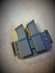 Double magazine Carrier - Glock .45/10mm
